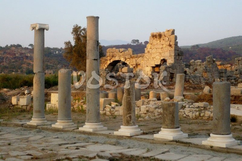 Remains of ancient city Patara - Don;t forget to visit Patara beach as well