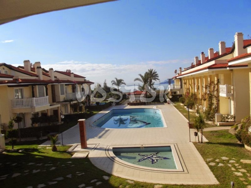 Shared children and adult pools - Seaside Villa in Calis Turkey