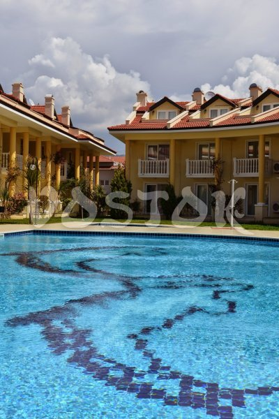 Shared pool - Seaside Villa in Calis Turkey