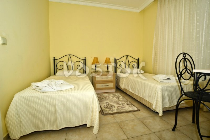 Twin bedroom - Seaside Villa in Calis Turkey