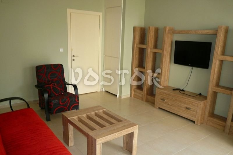 Living room with folding out sofa - Blue Green Apartments in Calis Fethiye