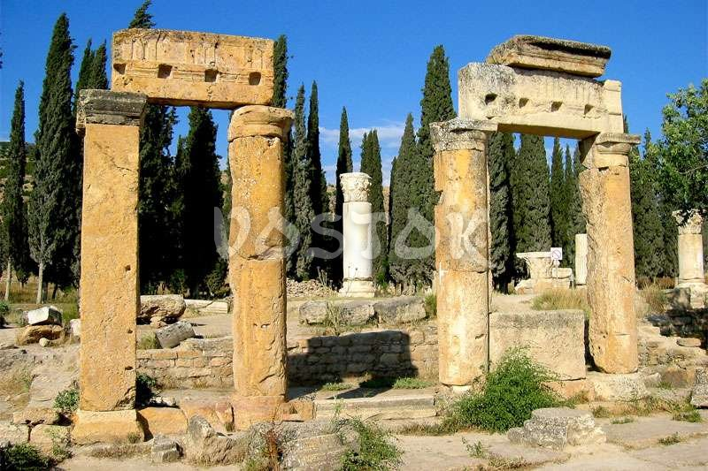 Ruins of Hierapolis as a part of Pamukkale excursions