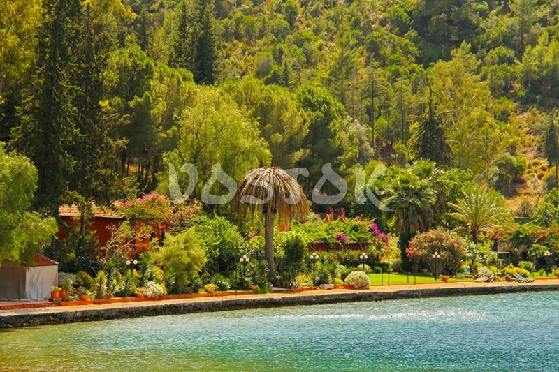 One of the private islands in the Gulf of Fethiye - Boat trips from Fethiye