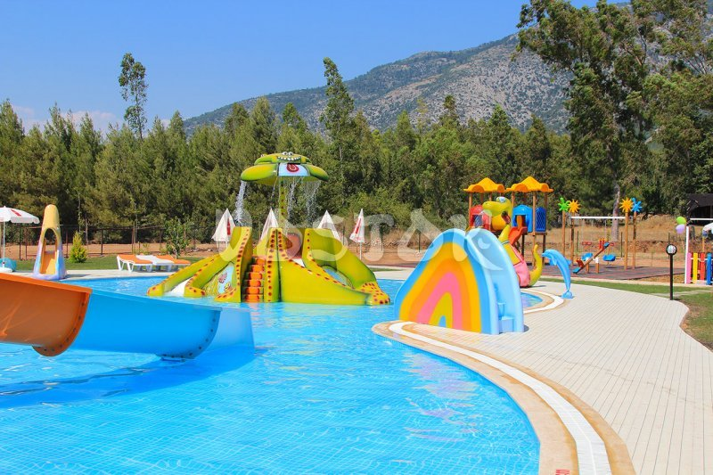 Children Swimming Pool With Slides