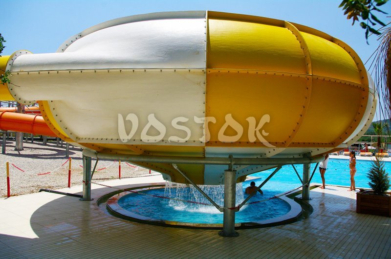The Water Well slide in Fethiye Water Park