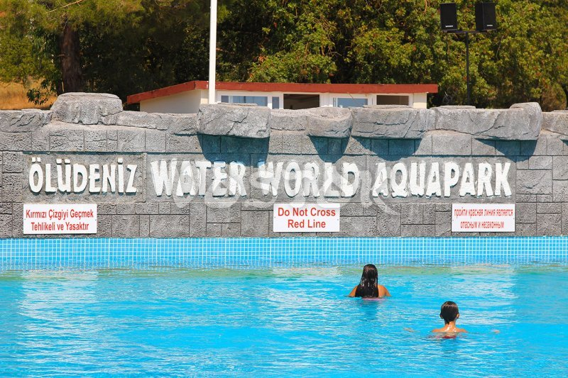 ... Wave Pool In Oludeniz Water World ...