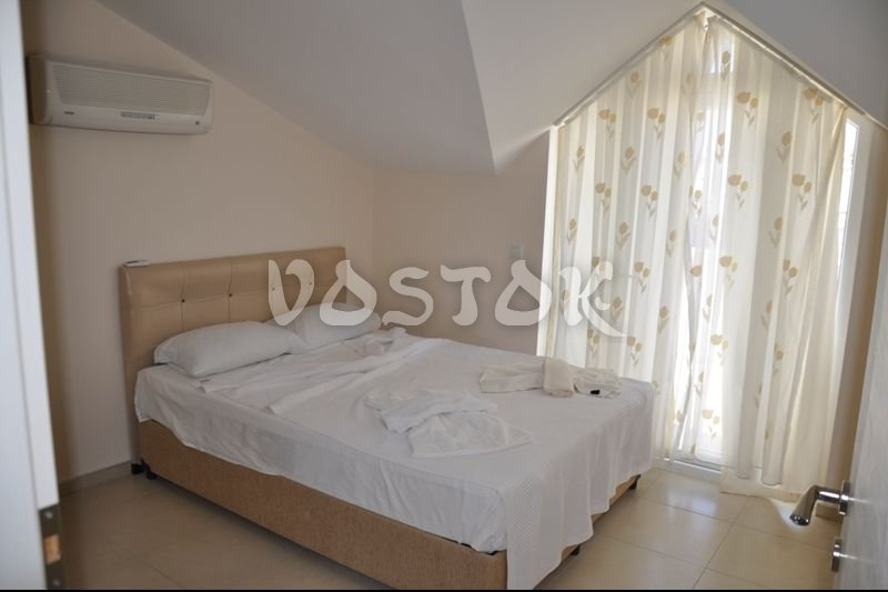 Master double bedroom on attic floor - Blue Green apartments Fethiye
