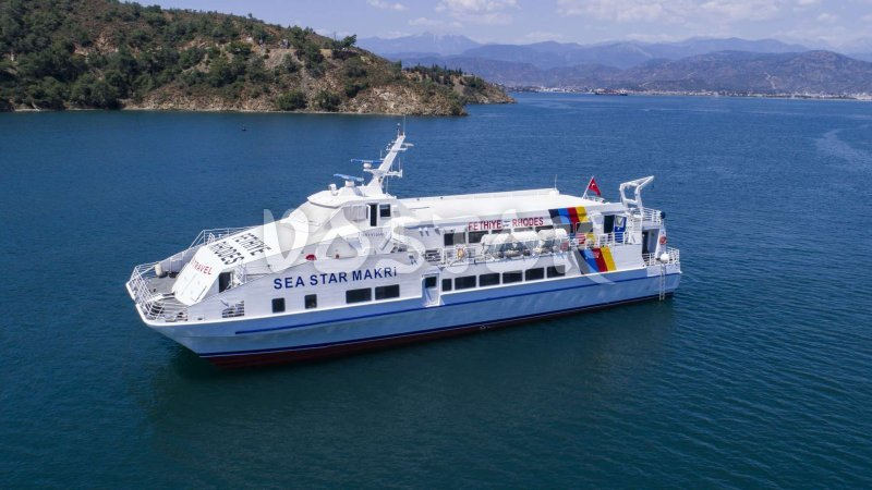Ferry from Fethiye to Rhodes