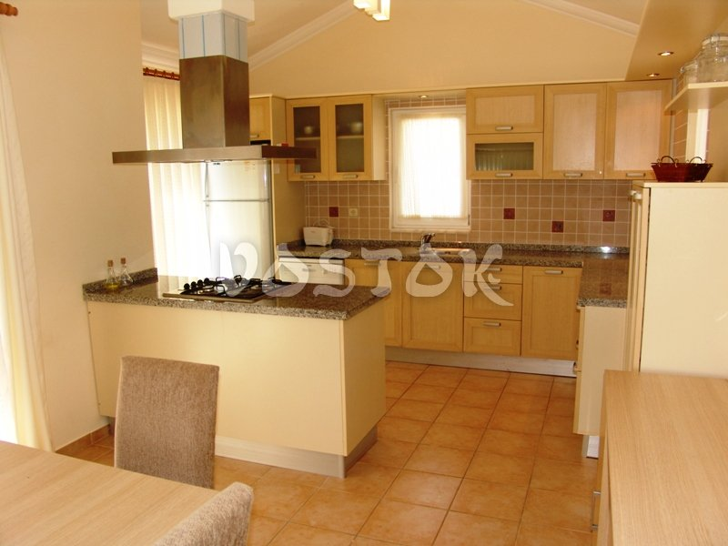 Open plan kitchen - Oasis Village Fethiye Turkey
