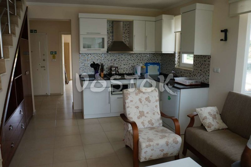 Open plan kitchen - G7 Blue Green Apartments in Calis