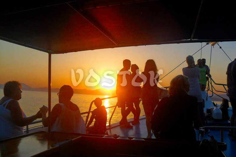 Perfect pictures of sunset in Fethiye