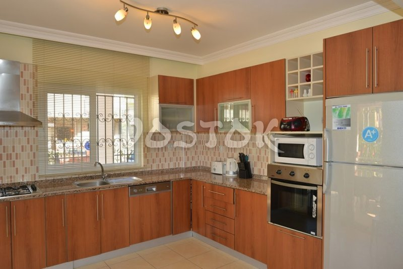 Fully equipped kitchen - Mango villa in Calis Fethiye Turkey