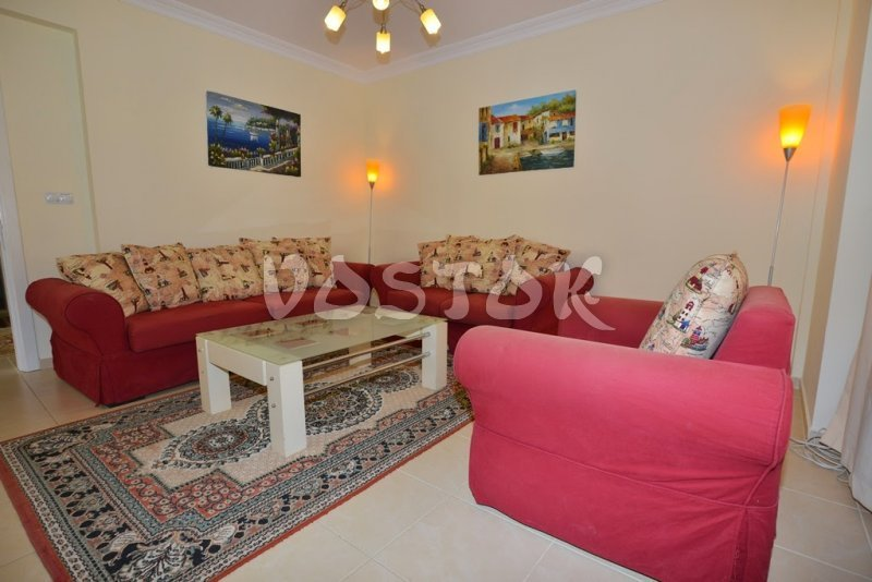 Living room - Mango villa in Calis Fethiye Turkey