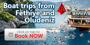 Boat trips from Fethiye and Oludeniz