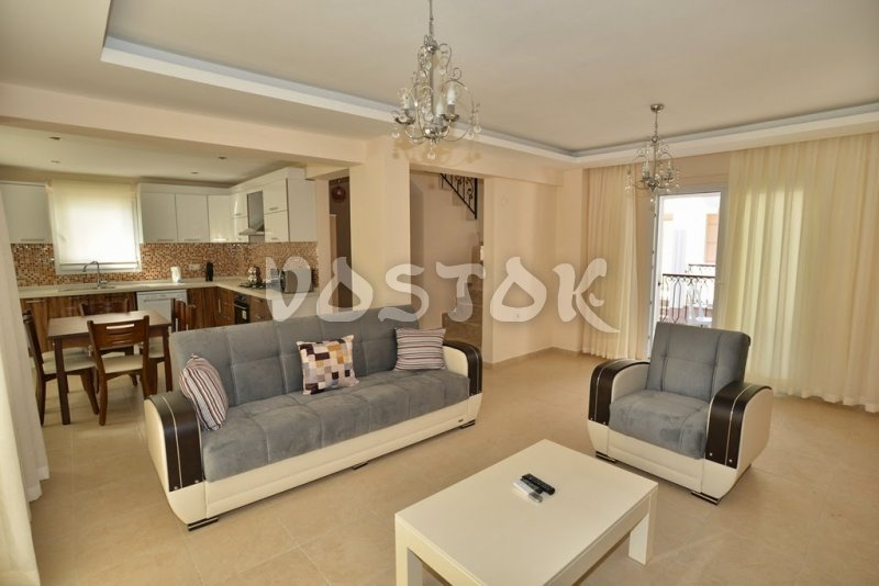 Ground floor lounge area - Talia Villa in Calis Turkey