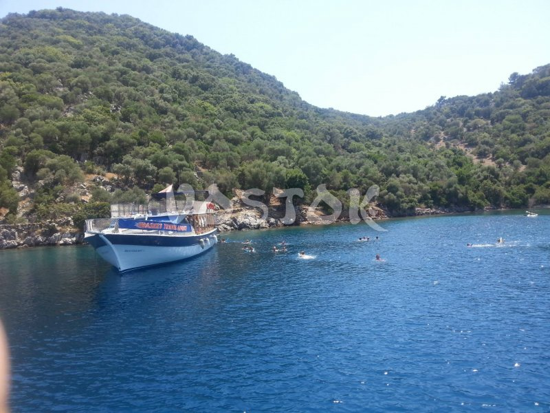 The Adali 2 boat is suitable for up to 50 people - Private Boat Hire Fethiye