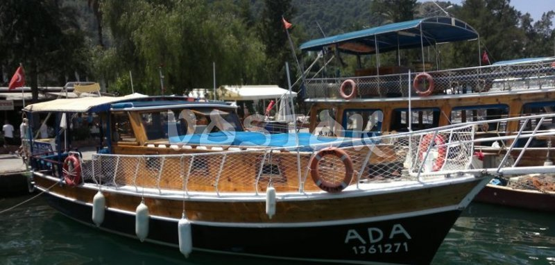 Ada boat with female captain Ilknur is suitable for up to 12 people - Private Boat Hire Fethiye