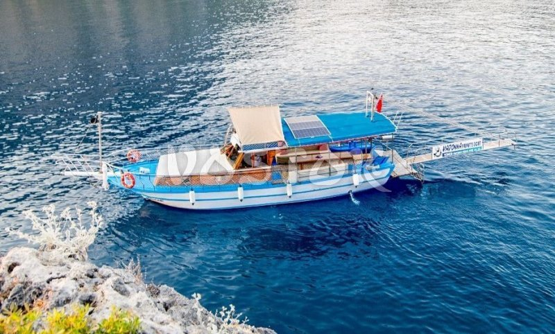 Madonna boat is eligible for up to 10 people - Oludeniz Boat Hire