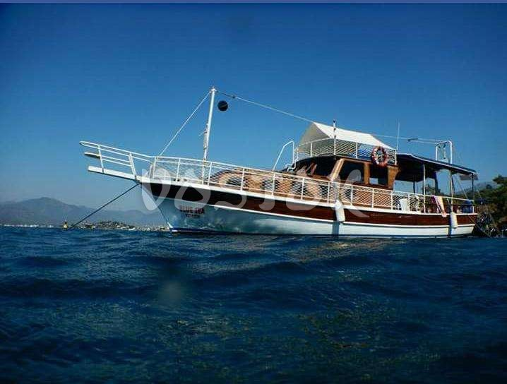 The Blue Sea boat for rent in Fethiye Turkey