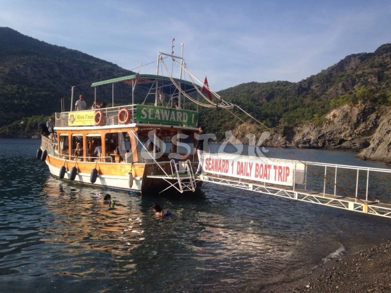 Seward 1 Boat for private hire from Oludeniz Beach Turkey