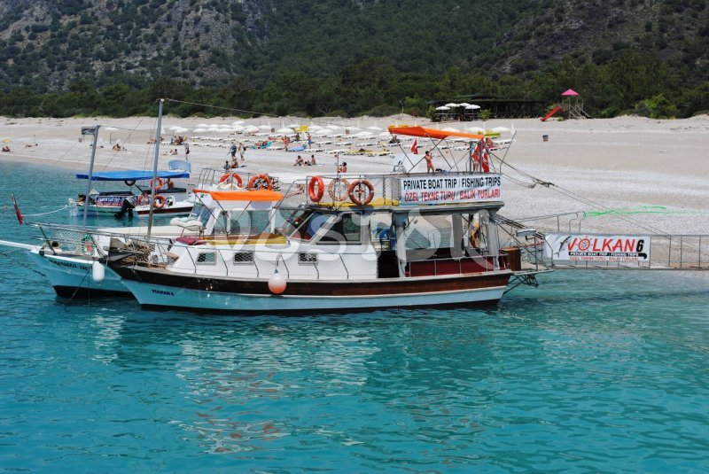 Volkan 6 boat is available for private boat hire in Oludeniz only - up to 12 people