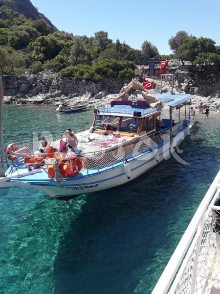 Madonna Boat is available for private boat hire from Oludeniz beach