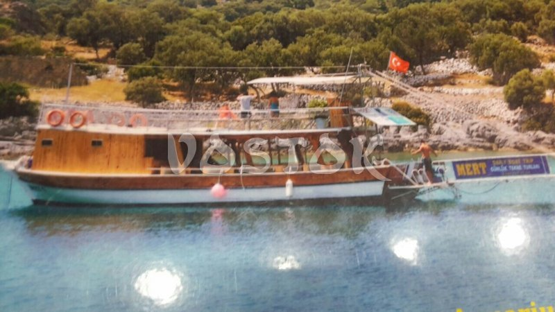 Mert 1 boat for private boat hire is available from Oludeniz and eligible for up to 30 passengers