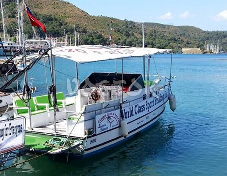 The private hire of Karagoz boat from Oludeniz beach