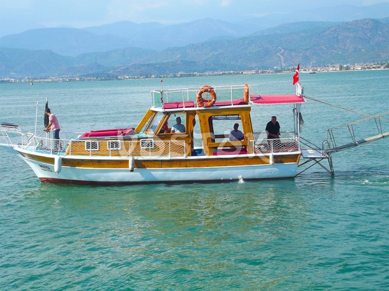 Sweet Pea boat is ready to go - Private Boat Hire Fethiye
