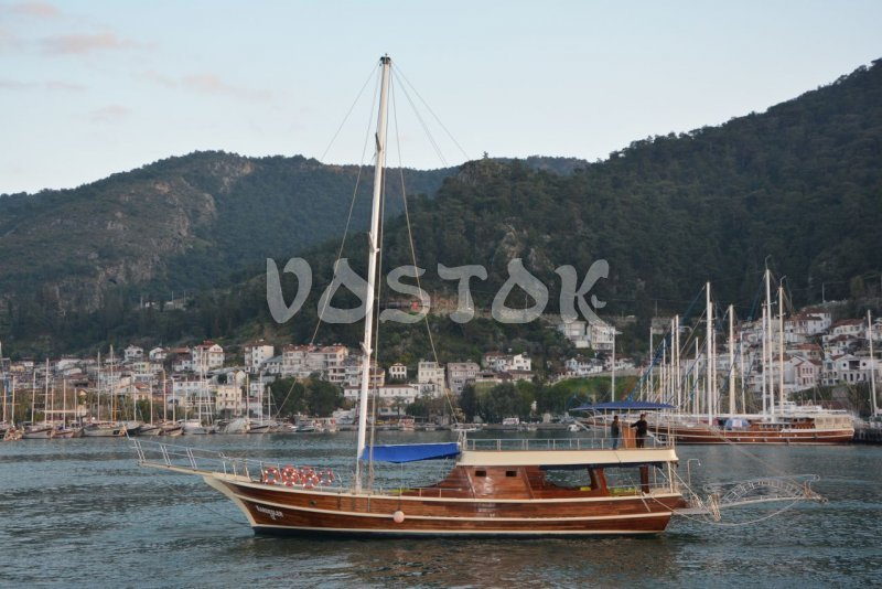 Kardesler 12 Boat is great choice if you are looking for sailing boat hire from Fethiye