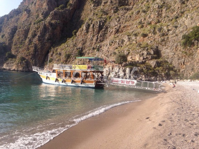 Seaward 1 boat is great choice as a boat for private hire from Oludeniz beach for big company of friends