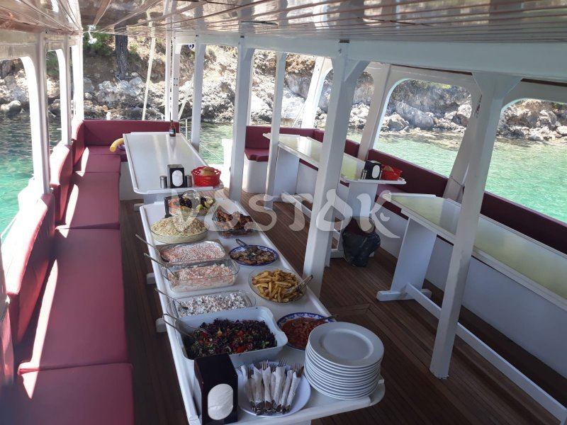 Lunch at Angel Boat - Private Boat Hire from Fethiye