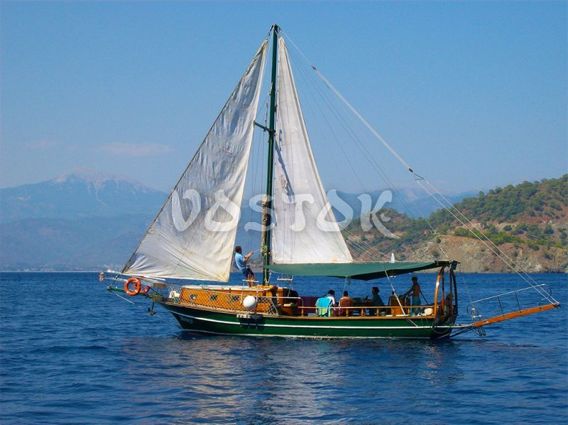 Mirage is sailing boat for up to 8 persons - Private Boat Hire Fethiye