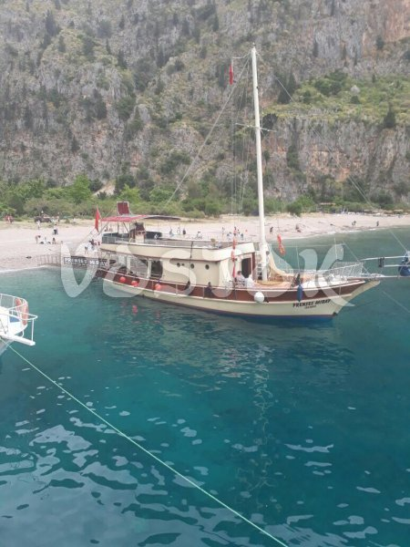 Prenses Miray boat can accommodate up to 60 people - Private Boat Hire Oludeniz