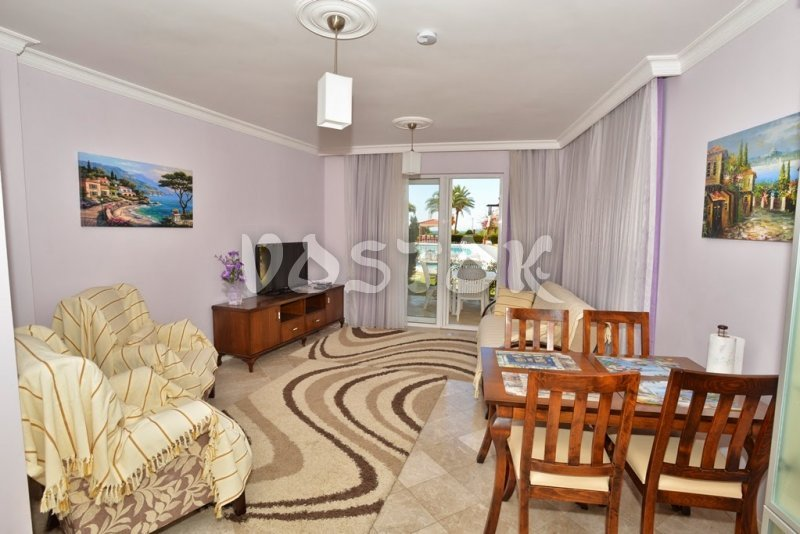 Living room - Seaside Villa in Calis Beach