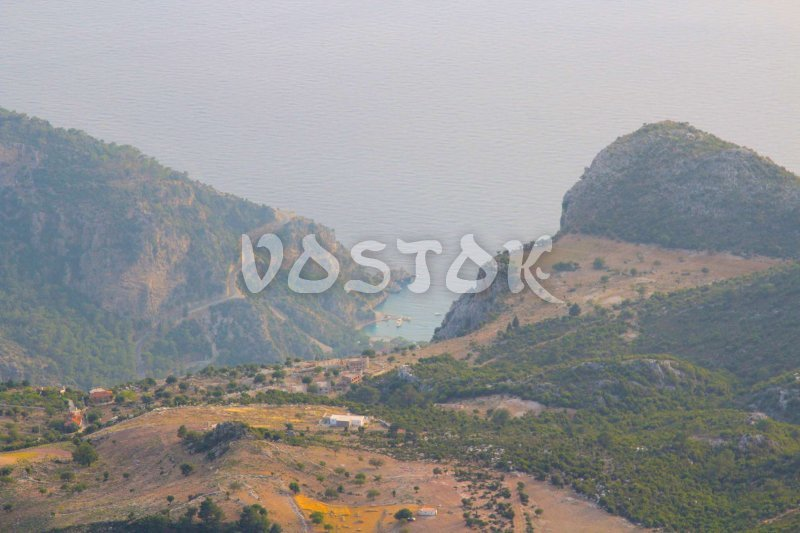 Butterfly Valley - view from mount Babadag