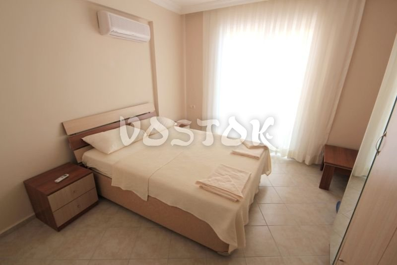 Master bedroom - Sunset Poseidon Apartments in Calis Fethiye