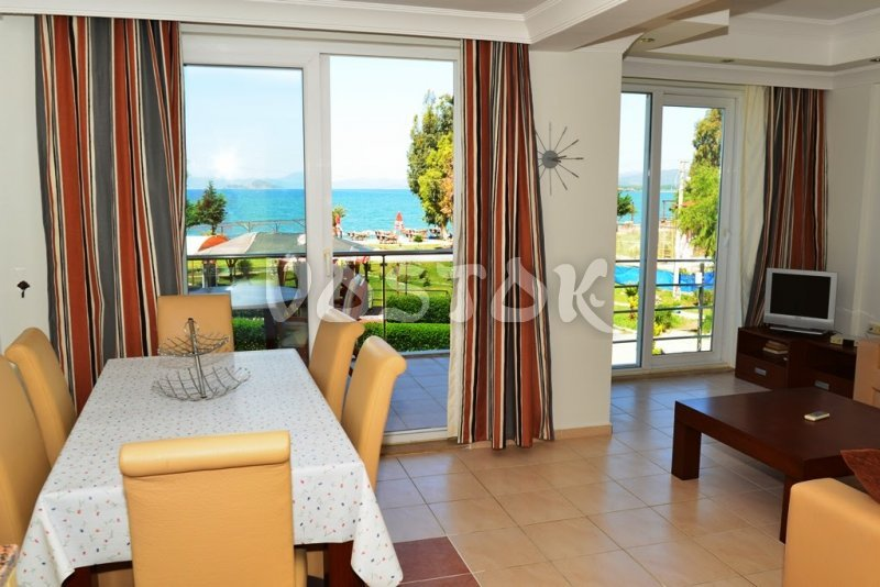 Living room - Saros Apartments in Calis Fethiye