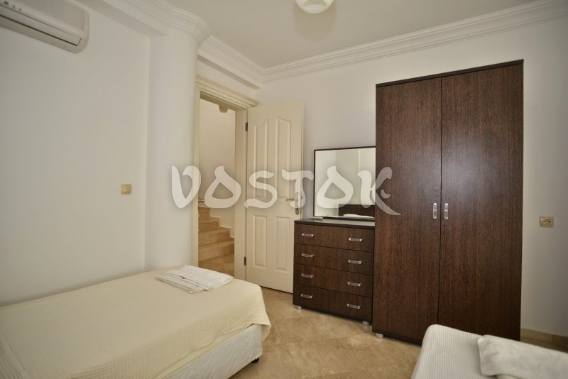 Another twin bedroom - #1 Sunset Beach Pearl Villa in Calis