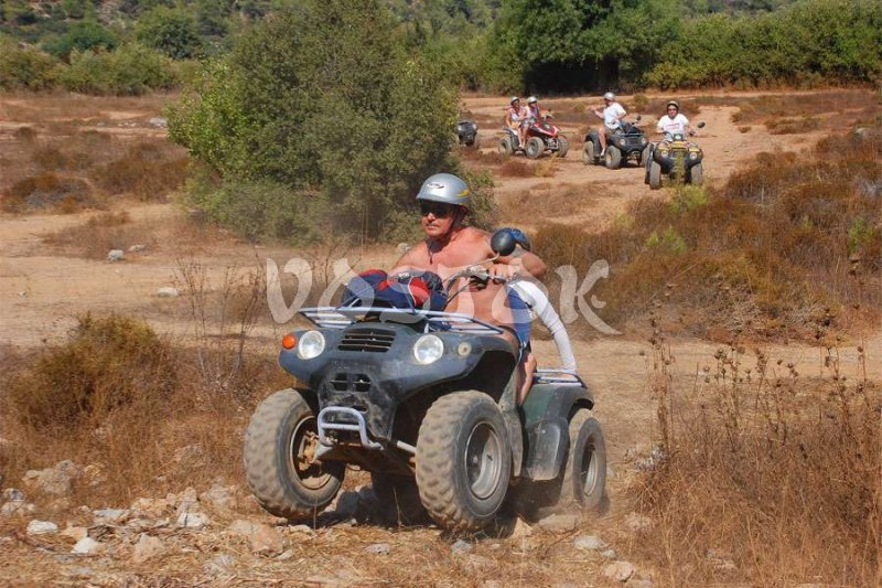 Off-road at Kayakoy Village - Quad Biking Safari in Kayakoy