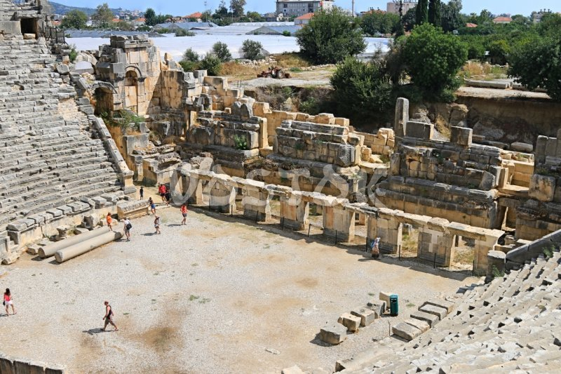 Antic theater in Myra - Fethiye to Kalkan Excursion