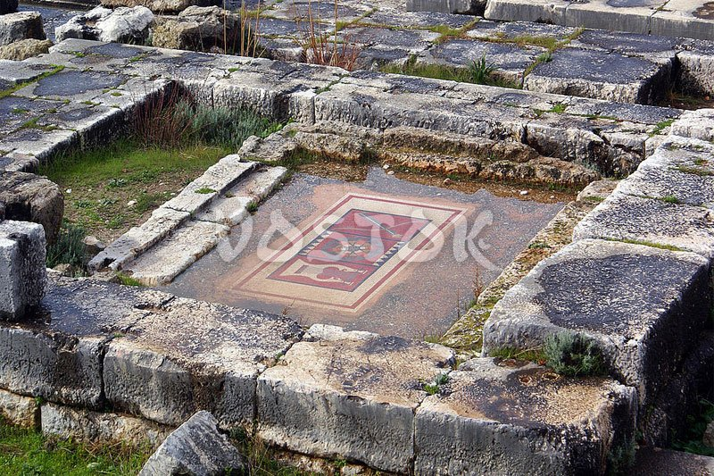 Remains of ancient Lycian city Xanthos near Fethiye