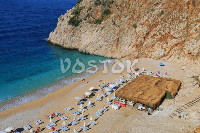 Amazing tiny Kaputas beach - Kas Kalkan Myra Kekova Excursion