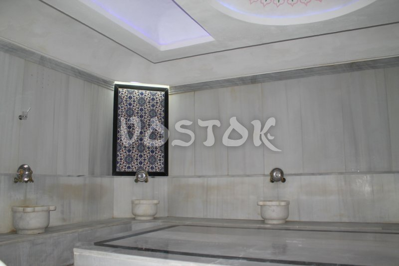 Steam room of hammam Oludeniz Turkish Bath