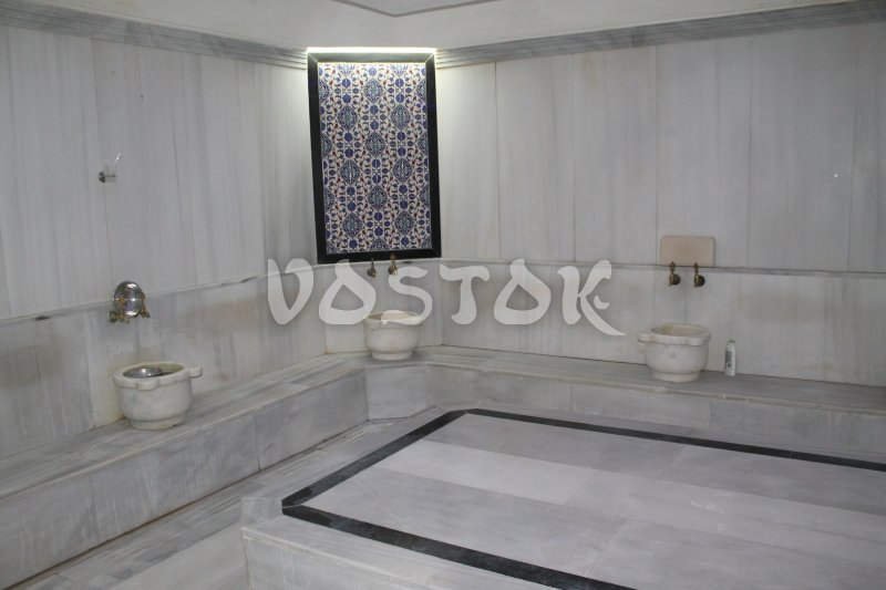 Steam room of our Hisaronu Turkish Bath Oludeniz