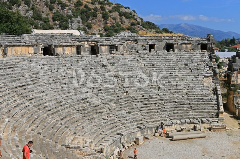 Myra antic Roman theater - Guided tour from Oludeniz Hisaronu Fethiye to Kas Kalkan Myra Kekova