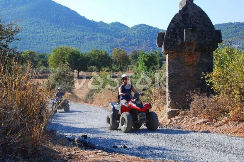Quad bike safari in Fethiye is real adventure along Lycian land - Quad Bike Safari in Fethiye