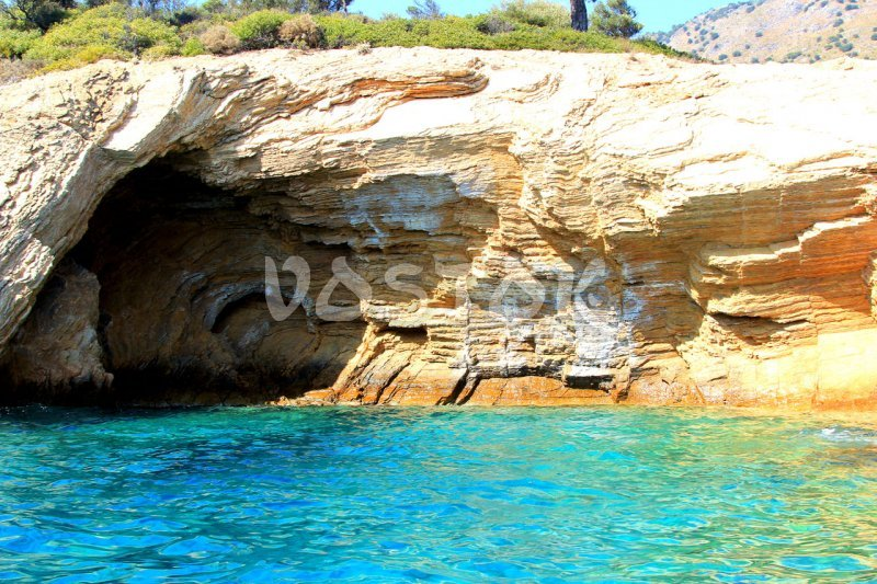 Romantic cave - you can get there only by speed boat from Oludeniz beach