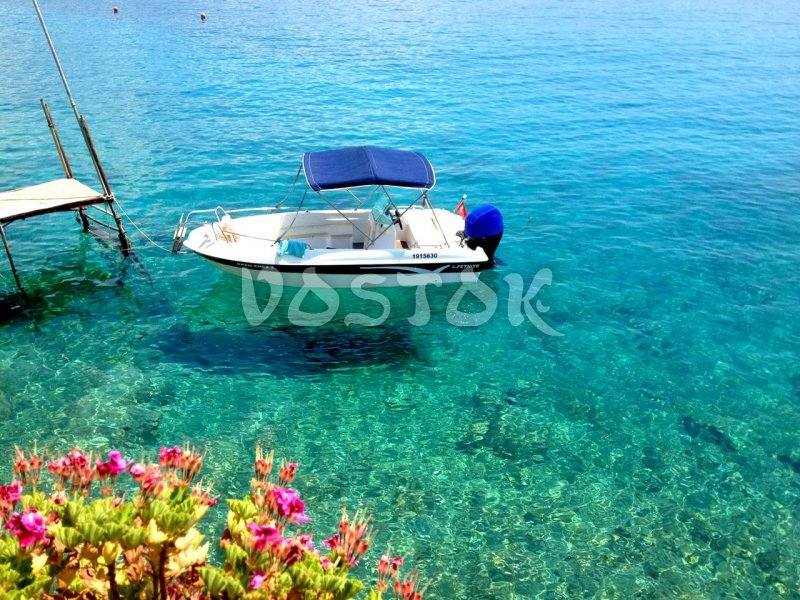 Speed boat can take you to places near Oludeniz you can not visit by regular boat