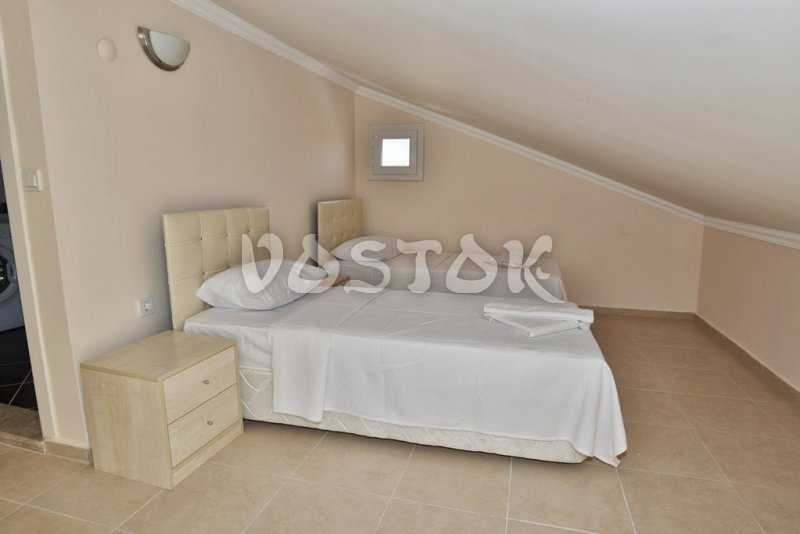Attic floor twin bedroom - Talia Villa in Calis Fethiye